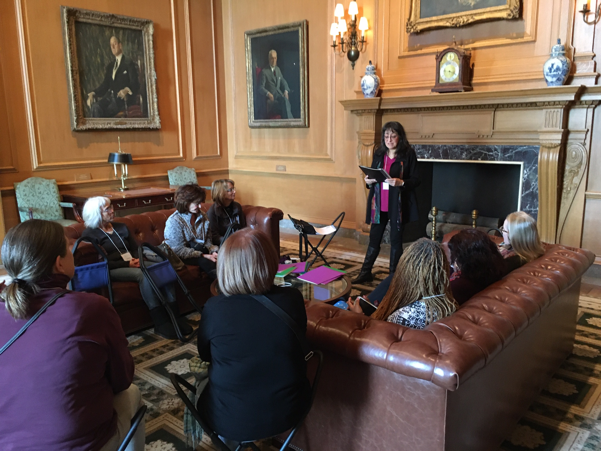 2. Conversing with Art™ at National Gallery of Art for Women's Caucus for Art DC